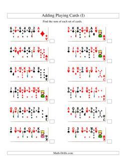 Adding 7 Playing Cards (I)