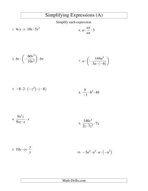 Homework helper algebra