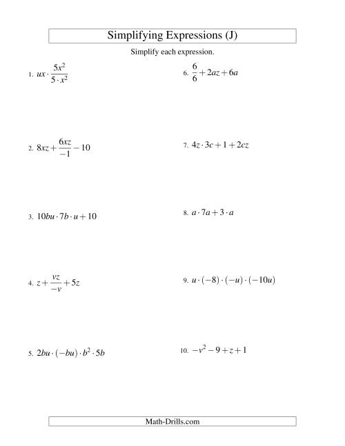 Distribution Math Worksheets Math Worksheets Center