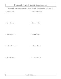 Search | Linear Equations | Page 1 | Weekly Sort