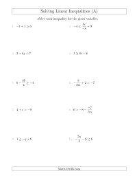 The Triangle Inequality Theorem Worksheets | Ideas for the House ...
