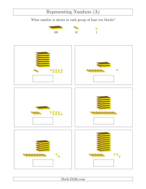 Base Ten Math Worksheets Math Worksheets Dynamically