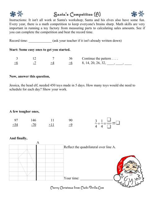 Santa\'s Competition Level 1 (A)