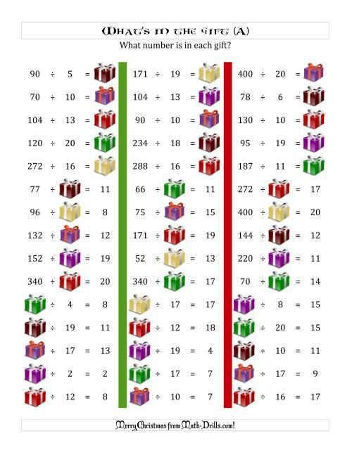 Christmas Math Worksheets This christmas math worksheet