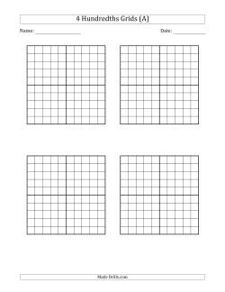Four Hundredths Grids