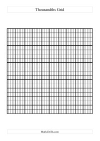 image relating to Printable Hundredths Grids identified as Eu Layout Decimals Worksheets
