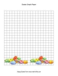 Easter Graph Paper