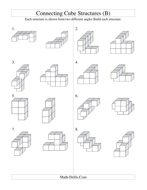 Free Worksheet Math Cubes Worksheet cube root worksheet workbook site structures b geometry the building connecting cube