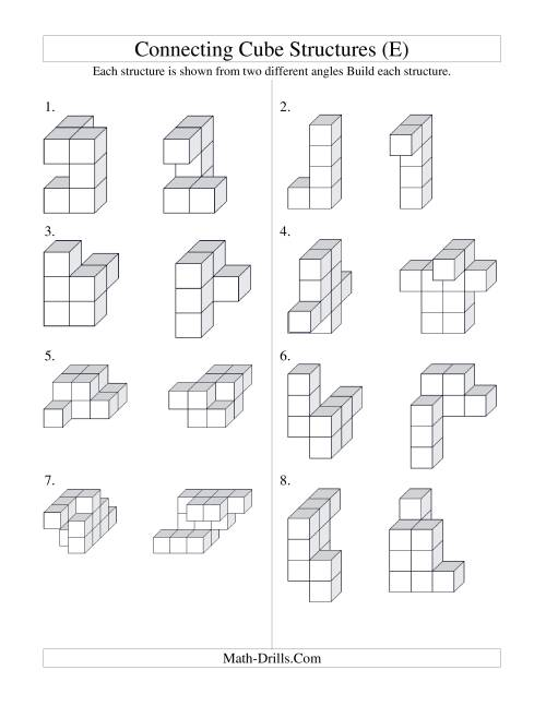 Free Worksheet Math Cubes Worksheet math cubes worksheet photo album newlookbk com images connecting cube structures e geometry geometry