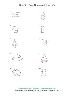 Identifying Prisms and Pyramids (A)