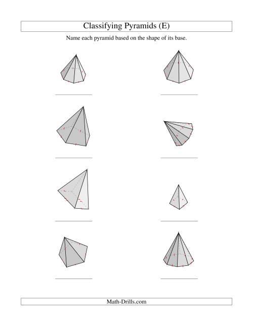 Classifying Pyramids (E)