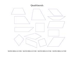 Geometry worksheets quadrilaterals set ibookread PDF