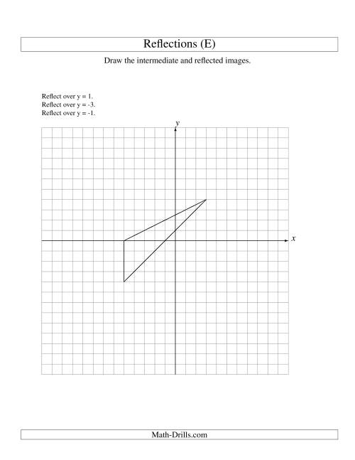 Free Worksheet Geometry Reflections Worksheet spincushion – Reflections Worksheets