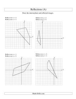 math drills search reflection math worksheets. Black Bedroom Furniture Sets. Home Design Ideas