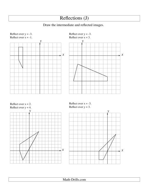 math worksheet : line reflection worksheets  reflection worksheets math  : Reflection Math Worksheet