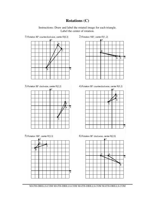 worksheet Translation Rotation Reflection Worksheet worksheet rotations 8th grade grass fedjp translations and reflections worksheets simplifying free rotation math my printable coloring pages 14 rotation