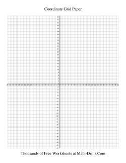0 25 Cm Coordinate Grid Graph Paper