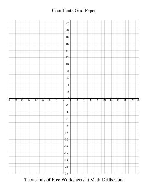 worksheet Xy Graph Paper printable coordinate grid paper category 2017 tags cartesian graph paper