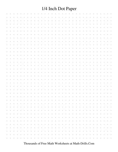 Doc415539 1 4 Graph Paper Template Free Graph Paper Template – Dot Paper Template
