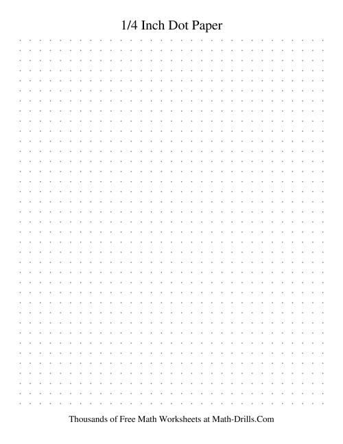 4 dots per inch dot paper  grey  graph paper