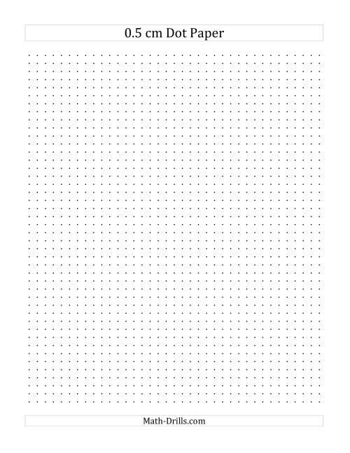 isometric dot paper 0.5 cm pdf
