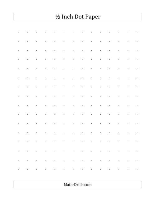 Half+Page+Graph+Paper Graph Paper Half Inch Square Graph Paper Inch ...