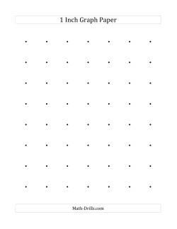 1 Inch Dot Paper