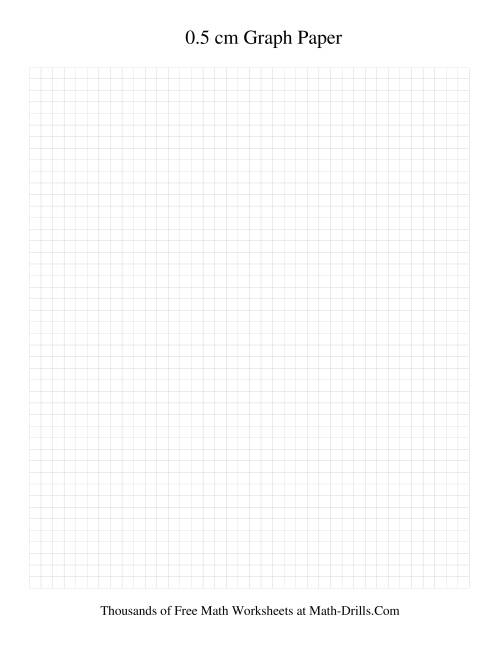 0 5 cm metric graph paper grey grey