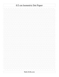 Drawing Lines In Cm Worksheet : Cm isometric dot paper portrait all graph
