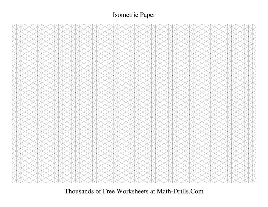 Printable isometric paper landscape beatiful landscape for Grid landscape design