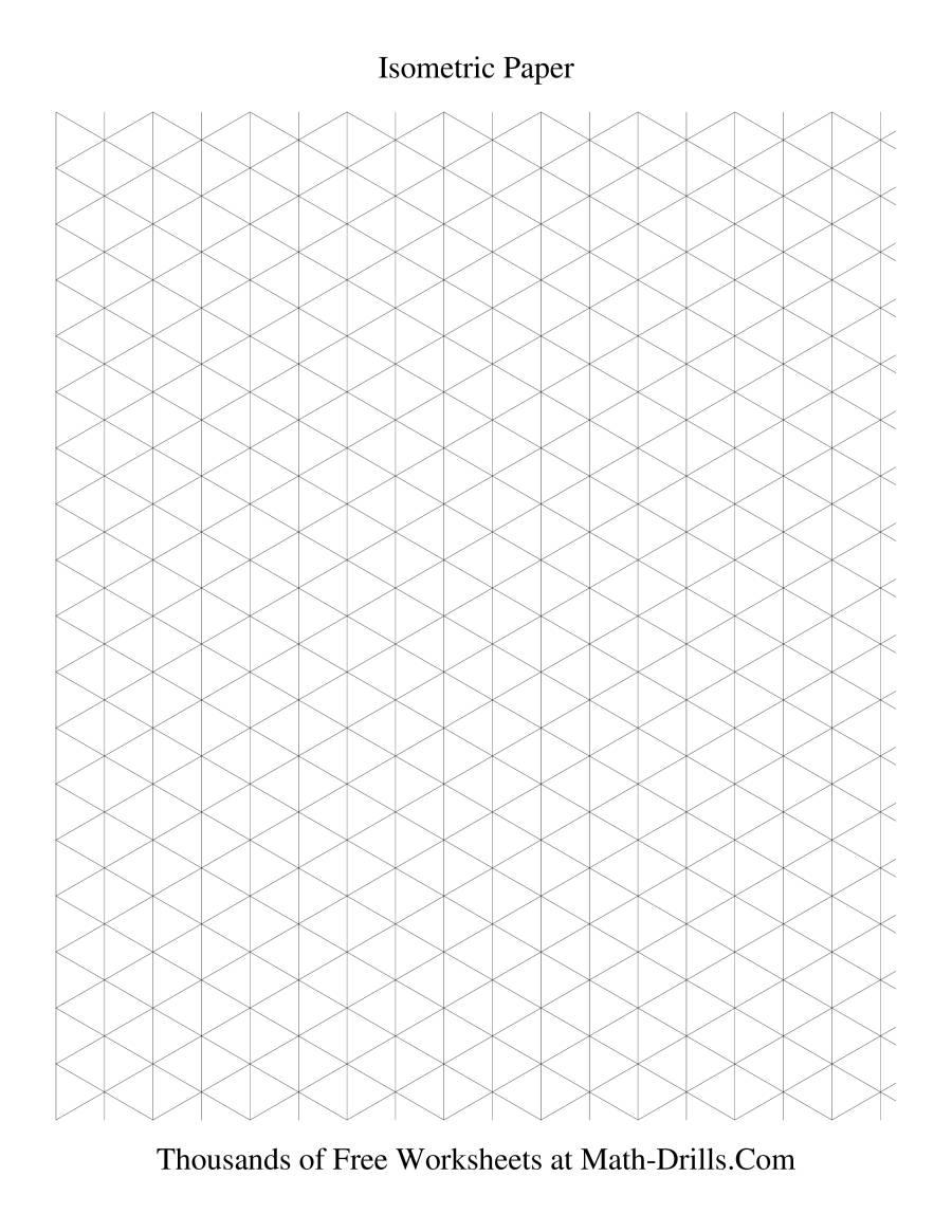 Isometric grid -- Large