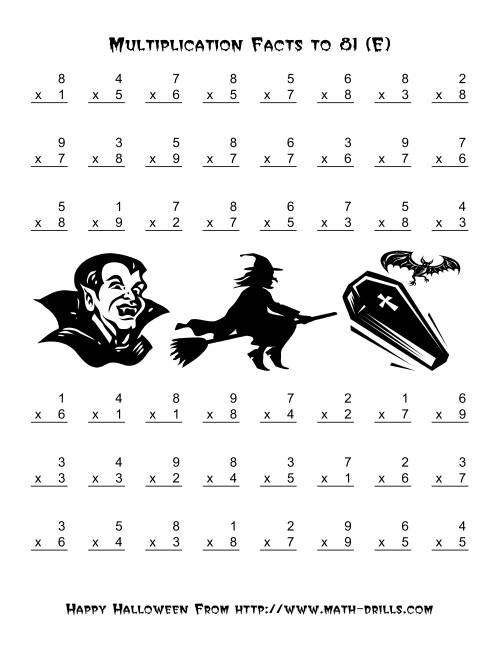 Halloween Coloring Pages With Math Free Worksheets Halloween – Halloween Math Coloring Worksheets