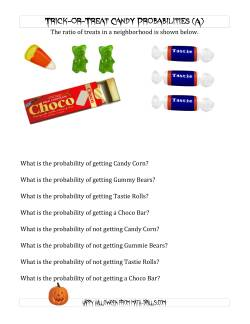 Trick-or-Treat Candy Probabilities (A)