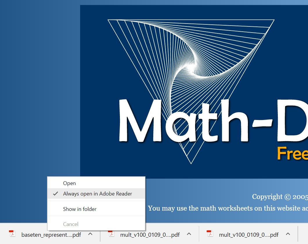 Math-Drills.Com Frequently Asked Questions