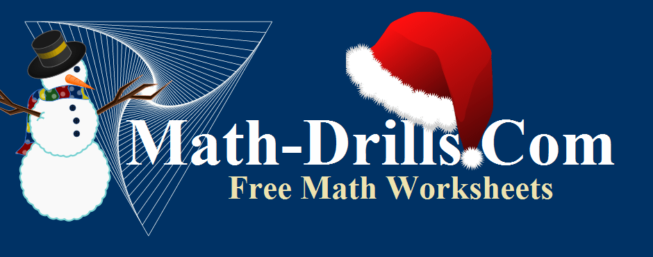 Christmas math worksheets including operations, patterning, geometry and data analysis.