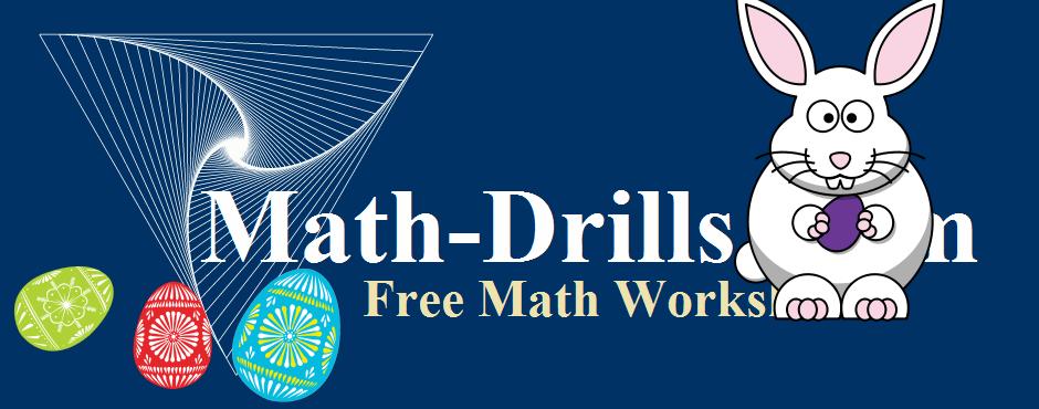math worksheet : easter math worksheets : Math Worksheet Website