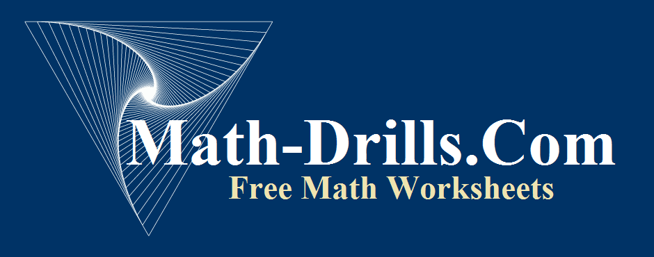 Math Worksheets at MathDrills – Free Printable Math Worksheet