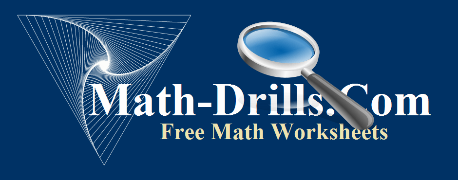 Large Print Math Worksheets
