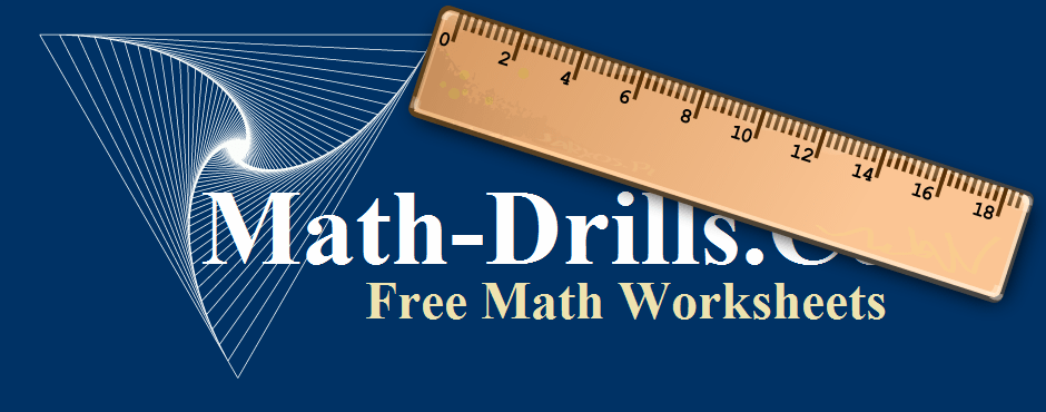 Measurement math worksheets including length, area, angles, volume ...