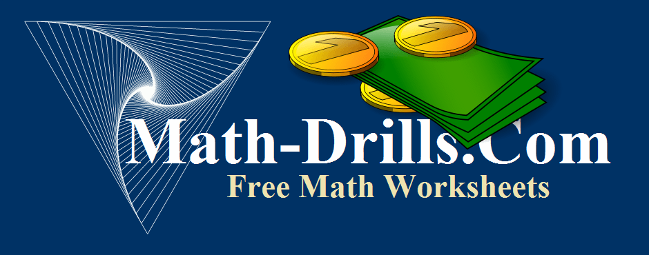 math worksheet : money worksheets : Column Addition Money Worksheets