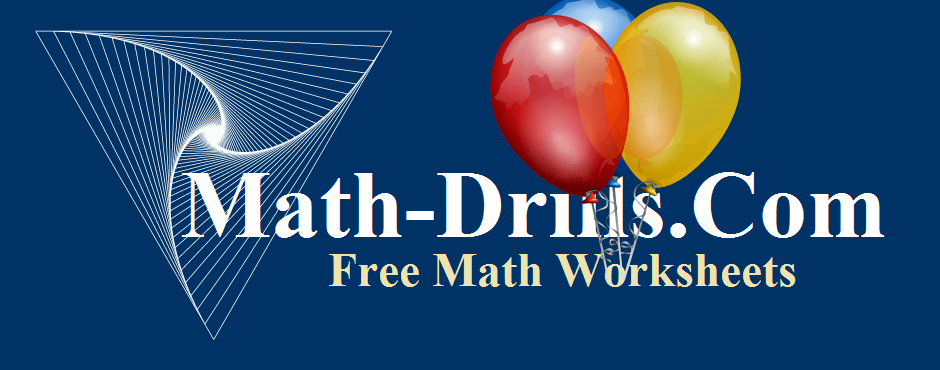 Math worksheets for special holidays and events such as President's Day, April Fool's Day, Sports and Father's Day.