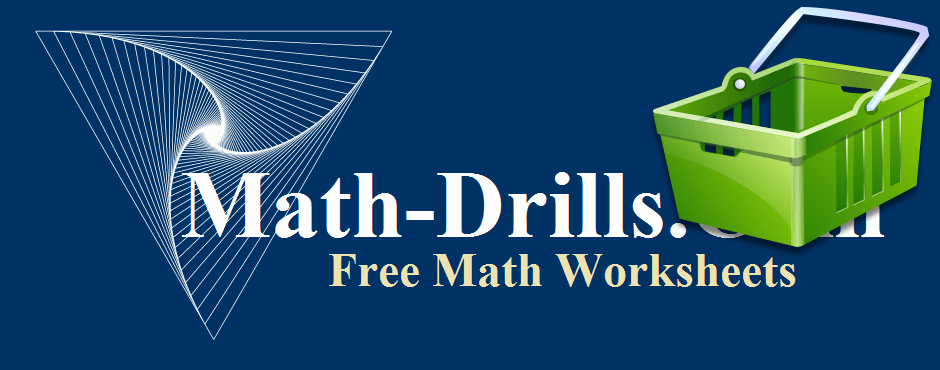 The Math-Drills.com stores focus on math products available through Amazon including math books, math toys and manipulatives, and other interesting math products.