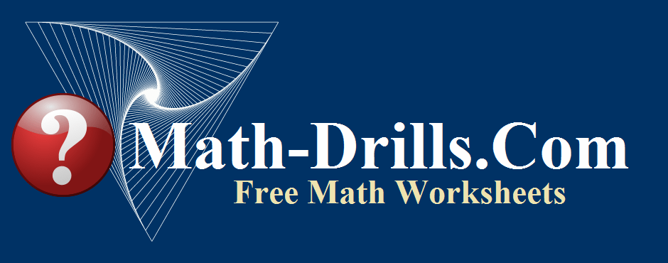 The terms of use for Math-Drills.com math worksheets.