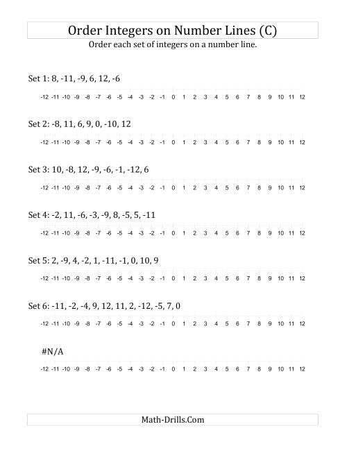 math worksheet : ordering numbers worksheet c math worksheets least to greatest  : Order Fractions From Least To Greatest Worksheet