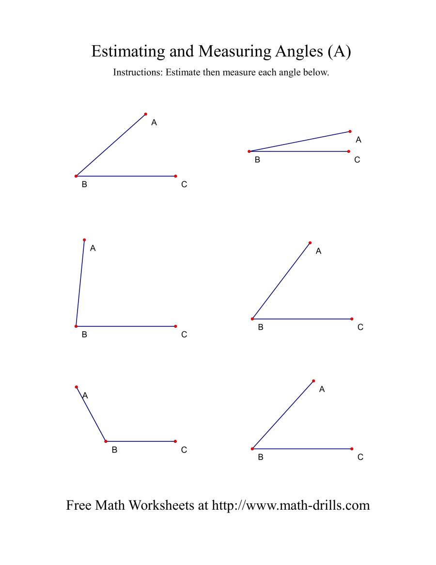 Printables Measuring Angles Worksheet Answers worksheets measure angles worksheet laurenpsyk free measuring a measurement the worksheet