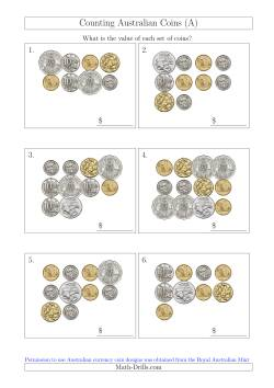 Counting Australian Coins