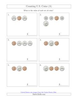 Counting Small Collections of U.S. Coins (A)