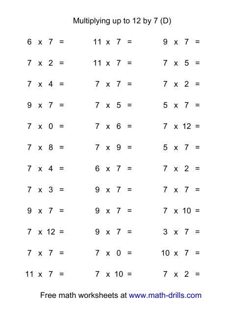 Multiplication Worksheets Grade 4 moreover 4 Grade Math Worksheets as ...