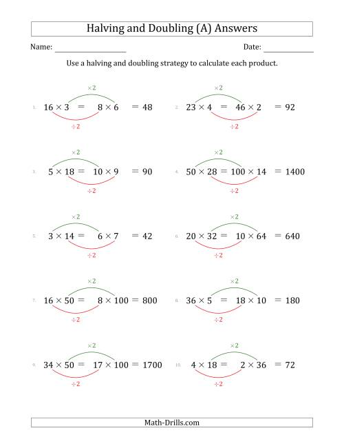 Halving And Doubling Multiplication - Halting Time
