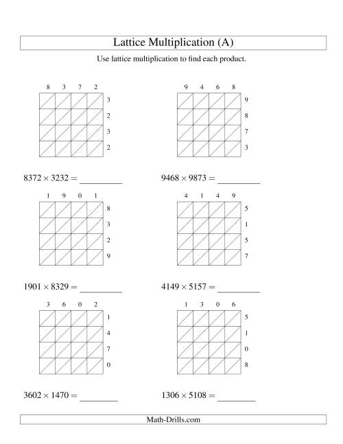Worksheet Multiplying Four Digit Numbers Mikyu Free Worksheet – 4 Digit by 1 Digit Multiplication Worksheets